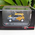 High Speed 1/87 Diecast Model Car  Opel Corsa Super 1600 Rallye #7 (4.5cm)