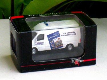 High Speed 1/87 Diecast Model Car 1999 Mercedes Benz Sprinter White Van (THW)
