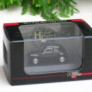 High Speed 1/87 Diecast Model Car Volkswagen VW 30 Black 1937 Classic Car