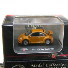 High Speed 1/87 Diecast Model Car VW Volkswagen New Beetle  (Brown)