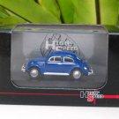 High Speed 1/87 Diecast Model Car VW Volkswagen Kafer Beetle Blue Classics Car (5cm)