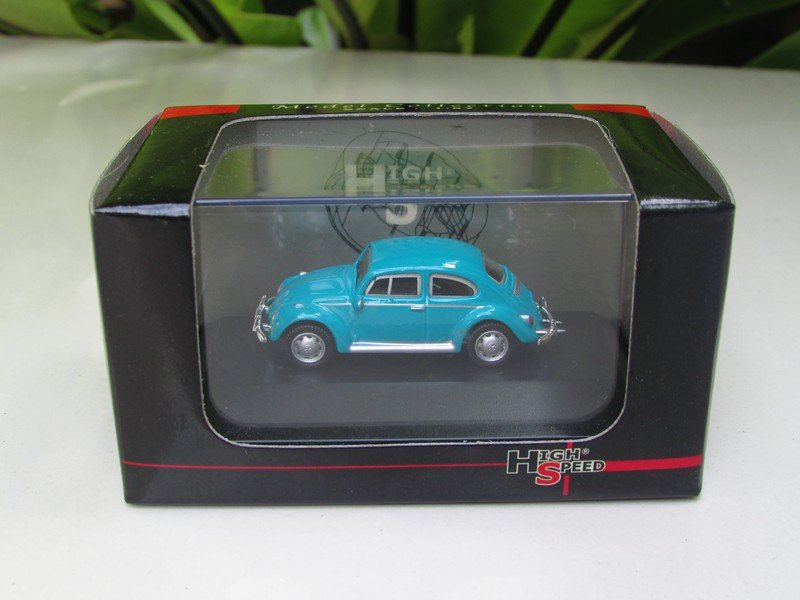 High Speed 1/87 Diecast Model Car VW Volkswagen Kafer Beetle  green blue  Classics Car (5cm)