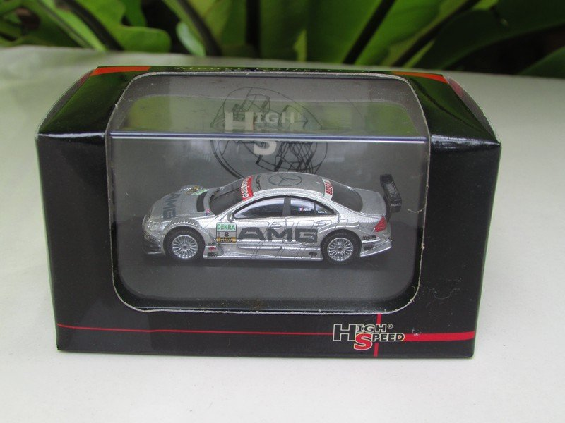 High Speed 1:87  Mercedes Benz C-Class DTM 2004 - AMG Mercedes - Jean Alesi # 8