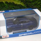 Maisto 1/24 Diecast Car Special Edition  Ford Mustang GT (2015) BLUE