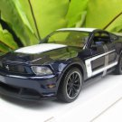 Maisto 1/24 Diecast Car Special Edition  2012 Ford Mustang Boss 302 Coupe ( Dark Blue)