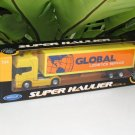 Welly 1-64  Die Cast Model SCANIA V8 R730 (4x2) Container Truck Tractor Trailer Yellow (24cm)