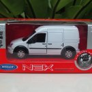Welly Diecast Model Car 2012 Ford Transit Connect  WHITE Van 1-38 (11cm)