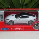 Welly NEX 1/34-1/39 (11cm) Die cast 2016 Jaguar F- Type Coupe White Sport Car