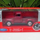 Welly NEX 1-38 (11cm) Die cast 1953 Chevrolet 3100 Pick Up Classics Truck RED
