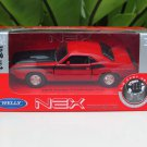 Welly NEX 1-38 (11cm) Die cast 1970 Dodge Challenger T/A Classics Car RED