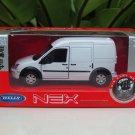 Welly NEX 1-38 (11cm) Die cast Ford Transit Connect White Van