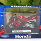 Welly 1/18 Diecast Motorcycle 2009 Honda CBR1000RR Fireblade Red