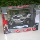 Welly 1/18 Diecast Motorcycle 1998 MV Agusta F4S 1+1 Silver