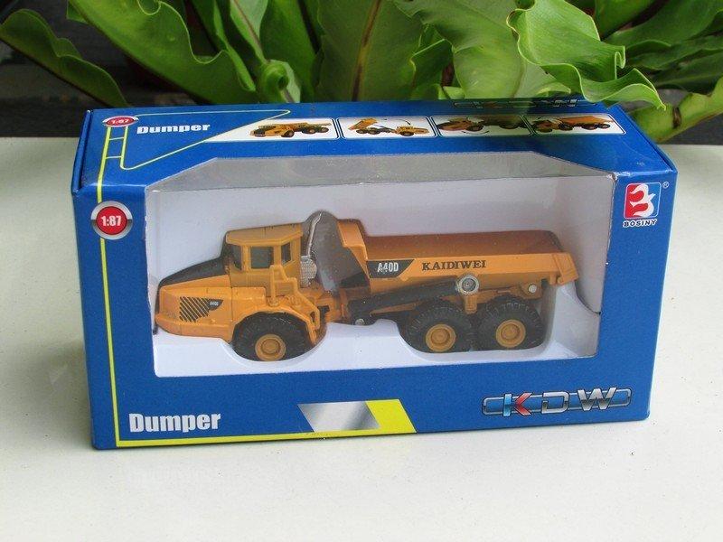 Kaidiwei (KDW) 1/87 Diecast Construction Vehicle Dumper Truck  ( 13cm )