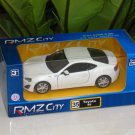 "RMZ / DSM 5"" Die cast Model Car #35 Toyota 86 White Sports Car"