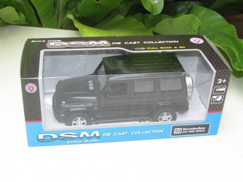 RMZ / DSM 5'' Diecast Car #50 Mercedes-Benz G63 AMG (W463) Black