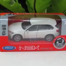 Welly NEX (11cm) 1/34-1/39 Die cast Car BMW X5 (White)