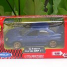 Welly 1/34-1/39 Die cast Car Subaru Impreza WRX STI 2002 BLUE (11cm)