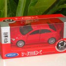 Welly NEX (11cm) 1/34-1/39 Die cast Car Mitsubishi Lancer Evolution EVO X (RED)
