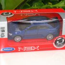 Welly NEX (11cm) 1/34-1/39 Die cast Car Mitsubishi Lancer Evolution EVO X (Blue)