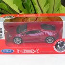 Welly NEX 1/34-1/39 Diecast Car Lamborghini Huracan LP 610-4 Red 2015 Sports Car