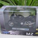 Welly 1/18 Diecast Motorcycle MZ 1000S (2005) sportbike Black