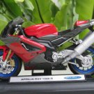 Welly 1/18 Diecast Motorcycle  Aprilia RSV 1000R Factory 2006 Red Superbikes