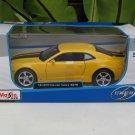 Maisto 1/24 Diecast Car Special Edition Chevrolet Camaro SS RS 2010 Yellow