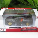 Maisto 1/24 Custom Shop Diecast Car Nissan GTR R35 (2009) Matt Black