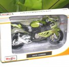 Maisto 1/12 Diecast Motorcycle 2012 BMW S1000RR (Green N Black)