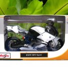 Maisto 1/12 Diecast Motorcycle BMW HP2 Sport (WHITE) 2008