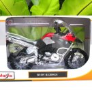 Maisto 1/12 Diecast Motorcycle 2009 BMW R 1200 GS (RED Silver)