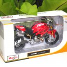 Maisto 1/12 Diecast Motorcycle DUCATI MONSTER 696 (2008-2012) RED