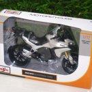 Maisto 1/12 Diecast Motorcycle DUCATI MULTISTRADA 1200S (2011) White Touring Bike