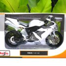 Maisto 1/12 Diecast Motorcycle 2004 Yamaha YZF R1 (White) Supersport Motorcycle