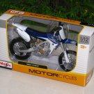 Maisto 1/12 Diecast Motorcycle Yamaha YZ450F motocross bikes (BLUE)