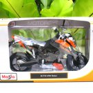 Maisto 1/12 Diecast Motorcycle KTM 690 Duke (ORANGE)