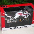 Automaxx 1/12 Diecast Motorcycle 2008 Honda CB1300SB(SUPER BOL D'OR)White