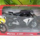Automaxx 1/12 Diecast Motorcycle 2008 Honda CBR 1000RR Fireblade (Black/Silver)