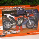 Automaxx 1/12 Diecast Motorcycle KTM 350 SXF Motocross (Orange)