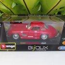 Bburago 1/24 Die cast Car 1954 MERCEDES BENZ 300SL Classics Car (Red)