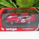 Bburago 1/24 Die cast Car Ferrari 365 GTB4 Competizione 1a Series #22 (Red)