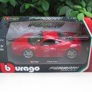 Bburago 1/24 Diecast Car Ferrari 458 Italia (Red)