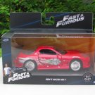 Jada 1-32  Fast & Furious Series -   1993 DOM'S MAZDA RX-7 Red