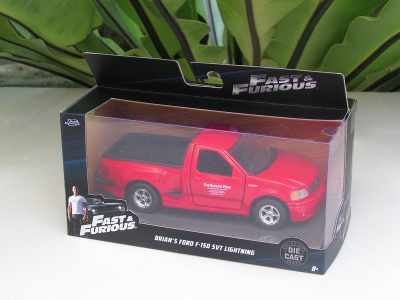 Jada 1-32  Fast & Furious Series -  BRIAN´S FORD F-150 SVT LIGHTNING 1999 Red