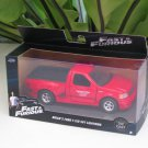 Jada 1-32  Fast & Furious Series -  BRIAN´S FORD F-150 SVT LIGHTNING 1999 Red