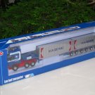 Kaidiwei 1/50 Die cast Car Low Loader Flatbed Trailer Container Transporter (38cm)