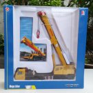 Kaidiwei 1/55  Die cast Construction Vehicle Mega Lifter Mobile Crane Yellow (20cm)