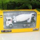 HY Truck 1/60 Diecast Lorry Construction Vehicle Concrete Mixer White (14cm)