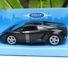 Welly 1/24 Diecast Car Model  Lamborghini Gallardo LP560-4 (Black) 2009